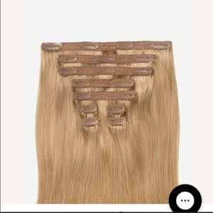 Luxy blonde hair extensions
